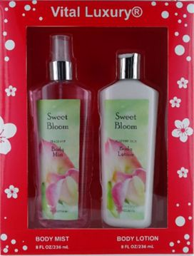 Picture of 2 Piece Body Mist and Lotion Set - Sweet Pea