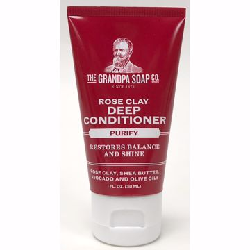 Picture of The Grandpa Soap Co. Rose Clay Purify Deep Conditioner