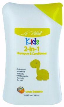 Picture of Le Vital Kid's Coco Banana 2-in-1 Shampoo & Conditioner 10.14 oz