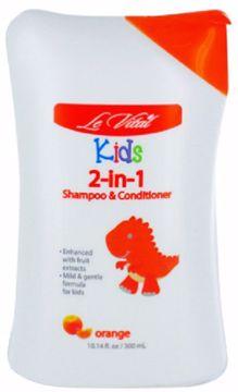 Picture of Le Vital Kid's Orange 2-in-1 Shampoo & Conditioner 10.14 oz