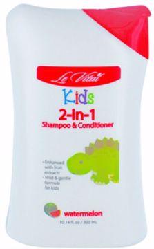 Picture of Le Vital Kid's Watermelon 2-in-1 Shampoo & Conditioner 10.14 oz