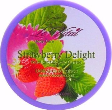 Picture of Radiant Body Butter-Strawberry Delight 6.7 oz