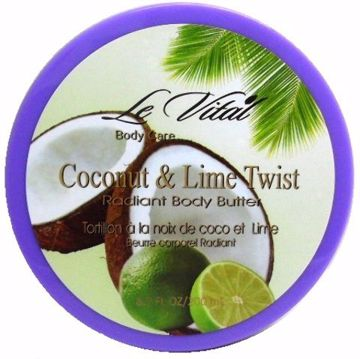 Picture of Radiant Body Butter - Coconut and Lime Twist 6.7 oz