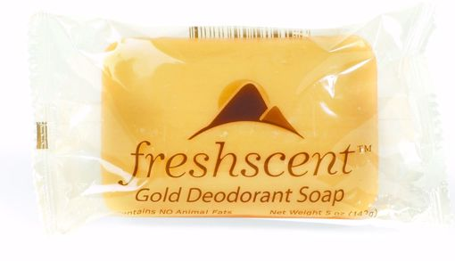 Picture of Freshscent Gold Deodorant Soap 5 oz (72 Units)