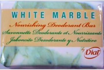 Picture of Dial White Marble Deodorant Bar Soap (0.75 oz.)