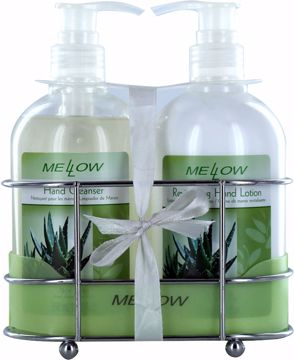 Picture of Hand Lotion and Hand Soap Set-Revitalizing Aloe Vera, 11.83 oz