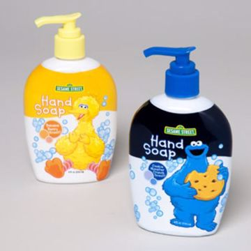 Picture of Children's Big Bird Or Cookie Monster Hand Soap, 8 oz Pack of (360)
