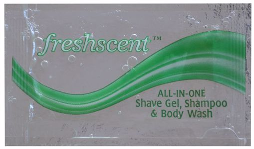 Picture of Freshscent All in One Shampoo, Shave Gel & Body Wash 0.33 oz