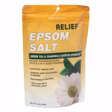 Picture of Green Tea & Chamomile Epsom Salt Bath Soak