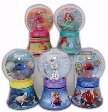 Picture of Licenced Character Bubble Bath Glitter Globe 8 oz