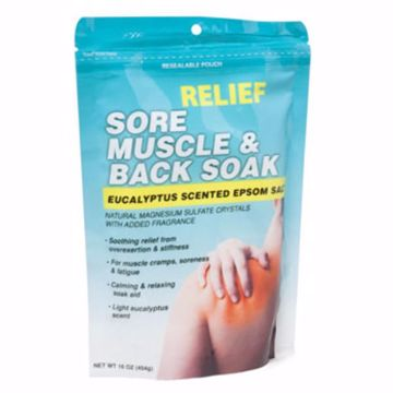 Picture of Muscle/Back Epsom Salt Bath Soak