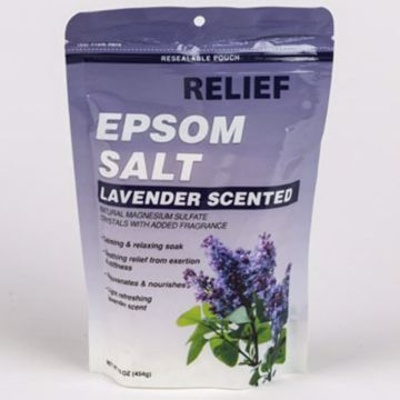 Picture of Lavender Epsom Bath Salt Soak