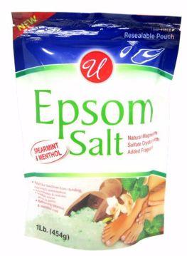 Picture of Epsom Salt With Spearmint & Menthol 1lb