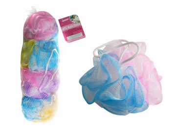Picture of Scrubber Bath Poofs 4 Piece Set
