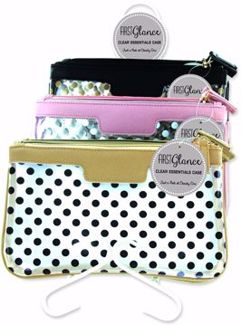 Picture of First Glance Clear Essentials Cosmetic Bag