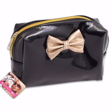 Picture of Cosmetic Bag with Gold Bow (pack of 36)