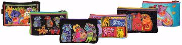 Picture of Dog Tales Zipper Top Cosmetic Bag