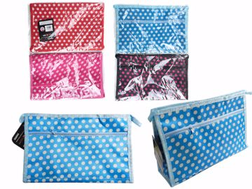 Picture of Polka Dot Cosmetic Bag Pack of (12)