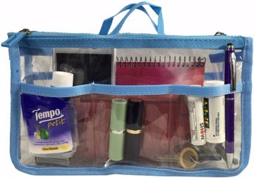 Picture of Handbag Organizer - Clear/Light Blue