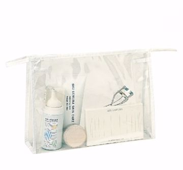 Picture of Clear Cosmetic Tote [Clear] - Style #013