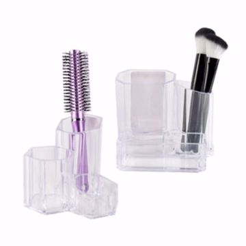 Picture of 3 Section Cosmetic Organizer