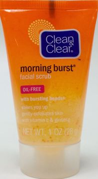 Picture of Clean & Clear Morning Burst Facial Scrub (1 oz.)