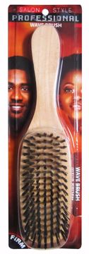 Picture of Firm Wooden Wave Hair Brush (pack of 24)