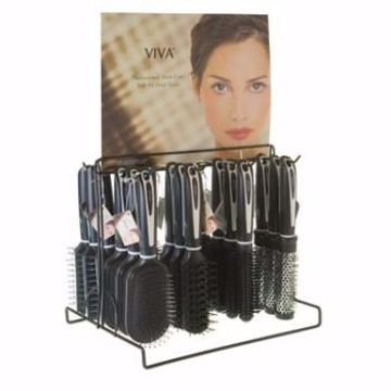 Picture of Viva Black & White Hairbrush With Plastic Handle (pack of 144)