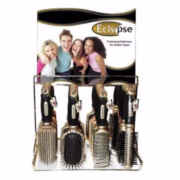 Picture of Gold Hairbrushes on Display (pack of 144)