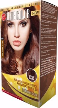 Picture of Women's Professional Quality Hair Color - Medium Brown