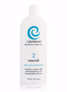 Picture of Curl Friends Nourish Rinse-Out Conditioner Liter (pack of 1)