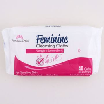 Picture of 40 Count Sensitive Feminine Cleansing Cloths (pack of 36)