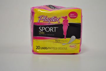 Picture of Playtex Sport(R) Liners - Regular - 20 pack