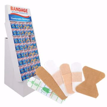 Picture of Bandage with Non-Stick Pad 12 Count (pack of 144)