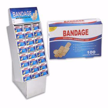 Picture of Assorted Size Bandages 100 Count