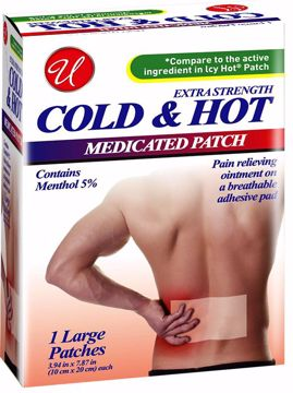 Picture of Extra Strength Large Cold & Hot Medicated Patch (pack of 96)