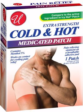 Picture of Extra Strength Cold & Hot Medicated Patch