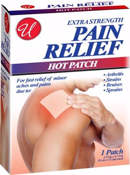 Picture of Extra Strength Pain Relief Hot Patch
