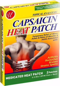 Picture of Capsaicin Medicated Heat Patch 2 Count