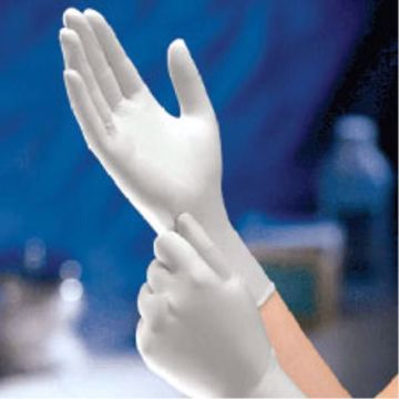 Picture of Non-Sterile Powder Free Latex Gloves 100 Count - Size Medium