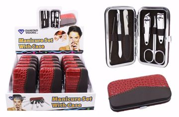 Picture of 6Pc Manicure Set With Case