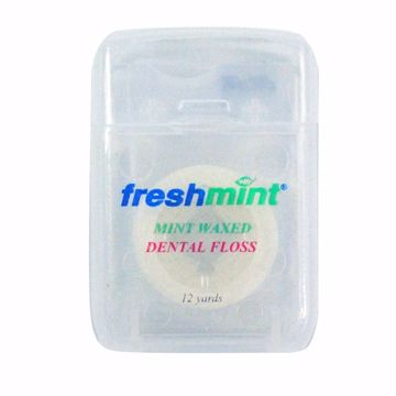 Picture of Freshmint Mint Waxed Dental Floss 12 yards
