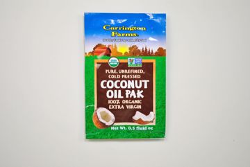 Picture of Carrington Farms Coconut Oil - Packet (0.5 oz.)