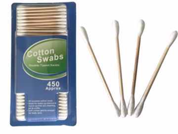 Picture of All Purpose Cotton Swabs 450 Count