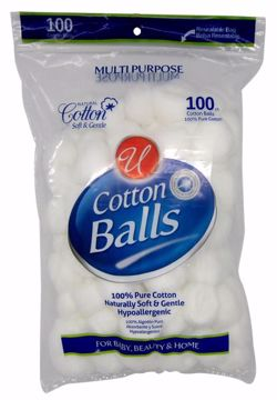 Picture of 100 COUNT COTTON BALLS