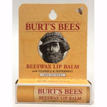 Picture of Beeswax Lip Balm with Vitamin E & Peppermint (0.15 oz.)