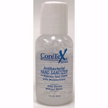 Picture of Coretex Hand Sanitizer 1 fl oz bottle (pack of 160)