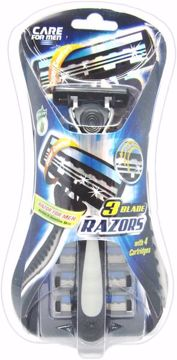Picture of 3 Blade Razors for Men