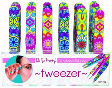 Picture of Oh So Pretty! Paisley Print Tweezers