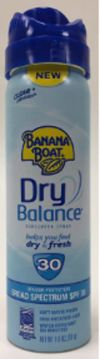 Picture of Banana Boat(R) Dry Balance? Spray Sunscreen SPF 30 1.8 oz Pack of (24)
